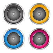 Soundspeakers — Stock Vector