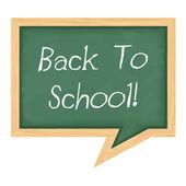 Back To School Banner — Stock Vector