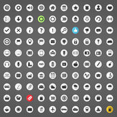 100 Different Icons — Vector de stock