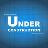 Под план строительства — Cтоковый вектор