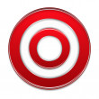 Red Target — Stock Vector #30255719