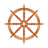 Ship Wheel — Stock Vector