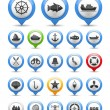Nautical Icon — Stock Vector