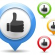 Thumbs Up Icon — Stock Vector #33478987