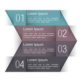 Modern Infographics Design Template — Stock Vector