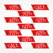 Discounts — Vector de stock