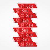 Sale Banners — Stockvektor