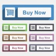 Buy Now Button — Image vectorielle