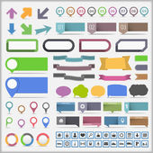 Infographic Elements Collection — Stock Vector