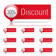 Discounts — Stock Vector