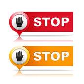 Stop — Stockvektor