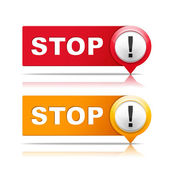 Stop Signs — Stock Vector