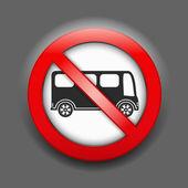 Keine parking sign — Stockvektor