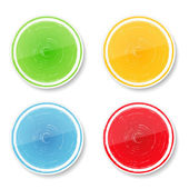 Cercles colorés — Vecteur