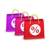 Shoping bags — Vecteur