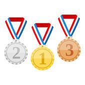Medaljer — Stockvektor