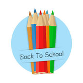 Back To School Banner — Stock Vector