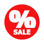 Znak procentu — Wektor stockowy