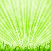 Green Background — Stock Vector