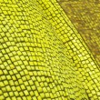 Stock Photo: Yellow and Yellowish Mosaics on Wall from Close