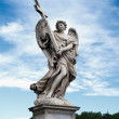 Statue in porta Sant Angelo — Stock Photo
