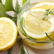 Lemon water - Stock Photo