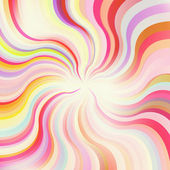 Abstract sunburst vector background — Stock vektor