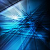 Neon çizgili mavi tasarlamak vektör arka plan — Stok Vektör