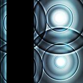 Sfondo vettoriale astratta e luce al neon — Vettoriale Stock
