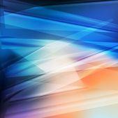 抽象的な青いベクトル背景テンプレート — ストックベクタ