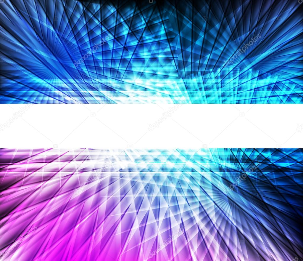 Blue and pink neon vector abstract background — Stock ...