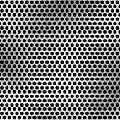 Metallic mesh texture vector background — Stock Vector