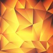 Orange, yellow, red abstract background crystal or gold texture — Stock Vector #37234929