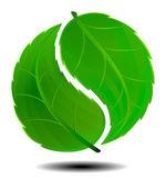 Green Symbol — Stock Vector