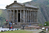 Garni temple in summer — Stock Photo