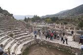 Old Ephesus theatre — Stock Photo
