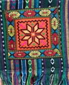 Handbag with traditional ornamentation — Stock Photo