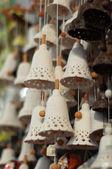 Many nice handbells — Stock Photo