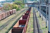 Railway landscape — Stock Photo