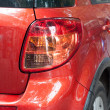 Stock Photo: Taillight of car