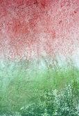 текстура потертой краски и зеленая стена от плесени и мосс — Стоковое фото