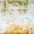 Texture of shabby paint and plaster cracks background — Stock Photo