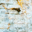 Texture of shabby paint and plaster cracks background — Stockfoto