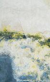 Textur eller bakgrunden vägg shabby färg och gips sprickor — Stockfoto