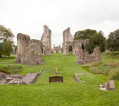 Glastonbury Abbey — Foto de Stock