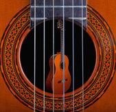 クラシック ギター — ストック写真
