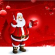 Santa Claus background — Stock Photo #12774346