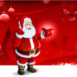 Santa Claus background - Stock Photo