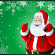 Santa Claus Christmas card — Stock Photo #13617316