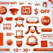 Sale tags collection — Stockfoto